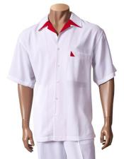 Sleeve Button Up White