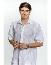 Fashionable Front Linen Short