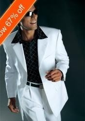 ID#BF4033 Off White Suit All Year Around Three buttons Wedding Suits For Men For Sale