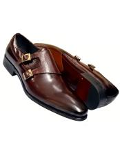 Genuine Calfskin Leather Burnished