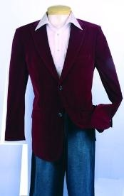 Sport Coat Wine Color