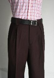 ID#WNE9124 Wide Leg Pants Wine