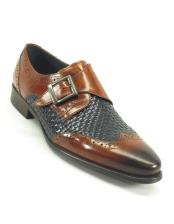 ~ Spectator Toe Brown/Navy