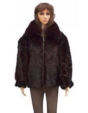 Fur Pull Up Zipper