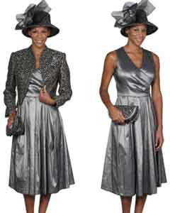 Dress Combo Grey/Gold
