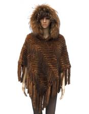 Fur Genuine Knitted Mink