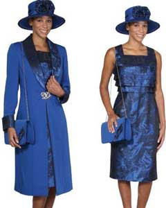 Dress Combo Royal Blue