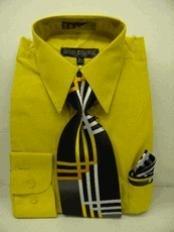 Dress Shirt Tie Combo