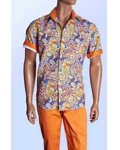 Paisley Linen Blend Fashion