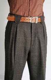 Leg Pants Charcoal Masculine