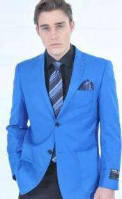 Fitted Premium Royal Sportcoat