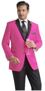 Pink Two Button Notch