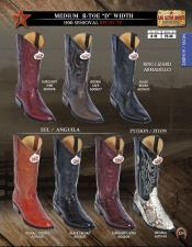 Snakeskin Cowboy Boot