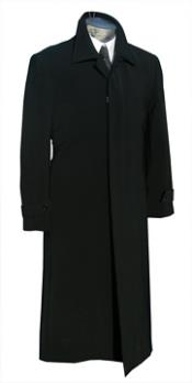 Long Black Overcoat