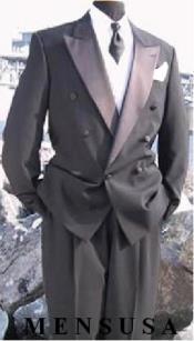 Double Breasted Tuxedo Suit(Jacket