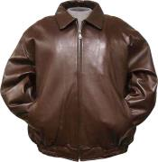 Chocolate brown Leather skin