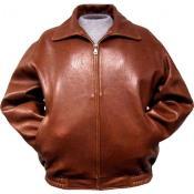 Leather skin  Bomber