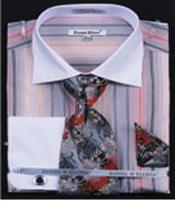Stripe French Cuff Shirts