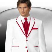 buttons Style White Tuxedo