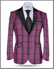 Windowpane Tweed Sport Coat