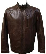 Brown Leatehr Jacket