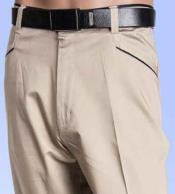 Oyster Flat Front Pants