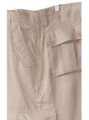 Cargo White Pants