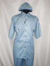 Buttons Two Piece Collar