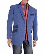 Wool fabric Herringbone Single