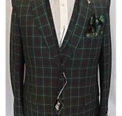 Green Vested 2 Button