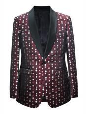 Button Floral Design Shawl