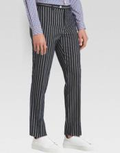Ganagster Chalk Striped Slacks