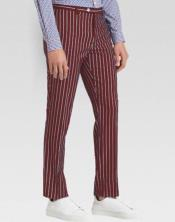 Ganagster Chalk Slacks Striped