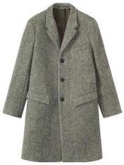 Tweed Wool Gray ~