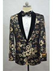 Lapel Black-Gold ~ Affordable