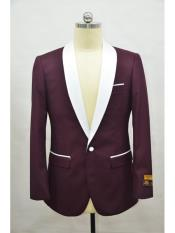 Burgundy-White  Flap Two
