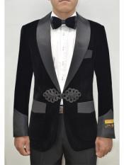 ~ Black Tuxedo Velvet