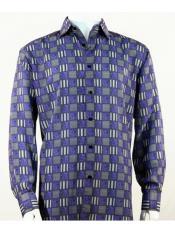 Shirt Mens Bassiri Button