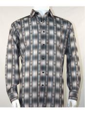 Shirt Grey Mens Bassiri