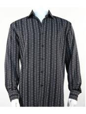 Dots Black Microfiber Shirt
