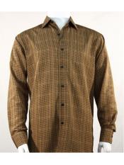 Bronze Microfiber Shirt Bassiri