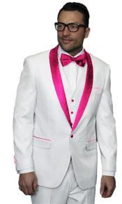 Alberto Nardoni White Tuxedo