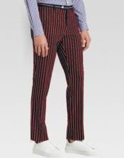 Slacks Dark Red Ganagster