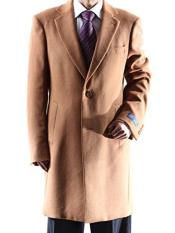 Caravelli Camel Topcoat Single