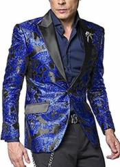 Nardoni Shiny Jacket Royal