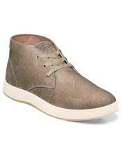ID#SP25820 Mens Authentic Belvedere Brand Green Three Eyelet Lacing Suede ~ Nubuck Cheap Priced Exotic Skin Shoes For Sale For Men
