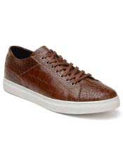 Toe Mens Lace Up