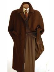 Duster Overcoat Dark Brown