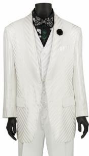 Piece Fashion Suit White