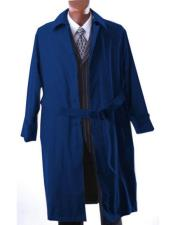 Trench Coat Dark Navy